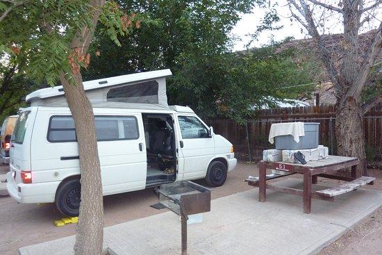 Slickrock Campground : Camp site