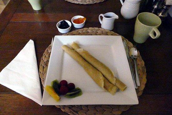 La Patrie, แคนาดา: Home made bio crepes