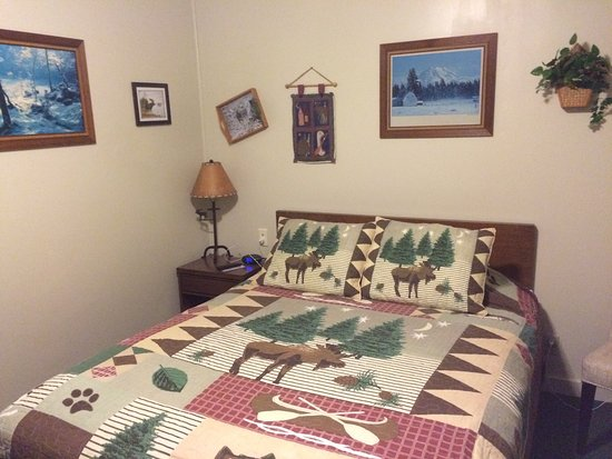 Carroll Motel & Cottages: Cozy, Comfortable room..