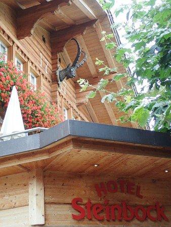 Hotel Steinbock: ホテルの外観です