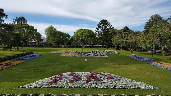 Laurel Bank Park in Toowoomba.,