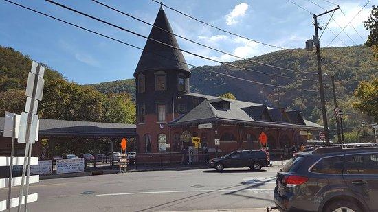 Jim Thorpe, PA: Train Station