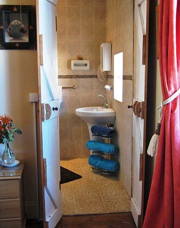 Fouriesburg, Güney Afrika: Maluti Room en suite bathroom