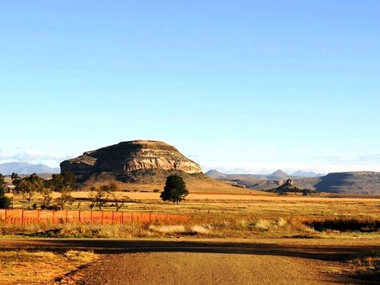 Fouriesburg, Güney Afrika: Magnificent Maluti Mountain view