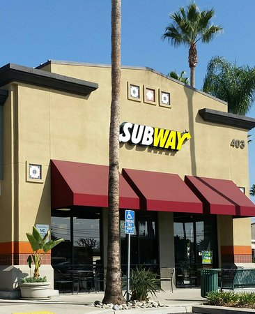 Brea, Kalifornien: Subway