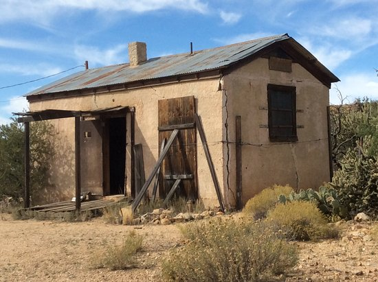 Chloride, AZ: Jail from outside