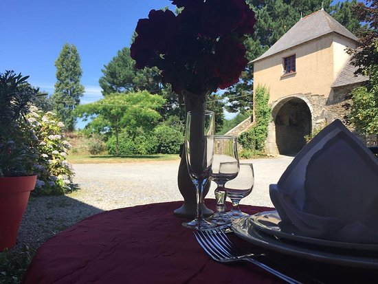 Nivillac, فرنسا: Un superbe cadre pour apprécier un bon repas