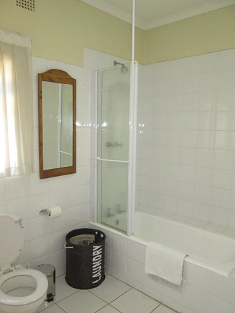 The Bath /Shower unit the en suites in the main house - Picture of ...