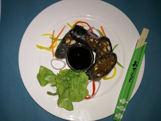 Riviere Noire District: Coral Tree Spring Roll