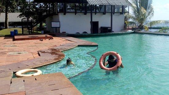 Huge Swimming Pool Picture Of Waterscapes Ktdc Backwater Resort Kumarakom Tripadvisor