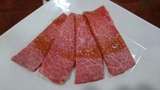 Oshu, Ιαπωνία: 前沢牛上カルビ