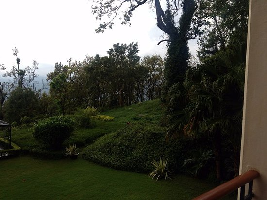 Ananda in the Himalayas: The room view