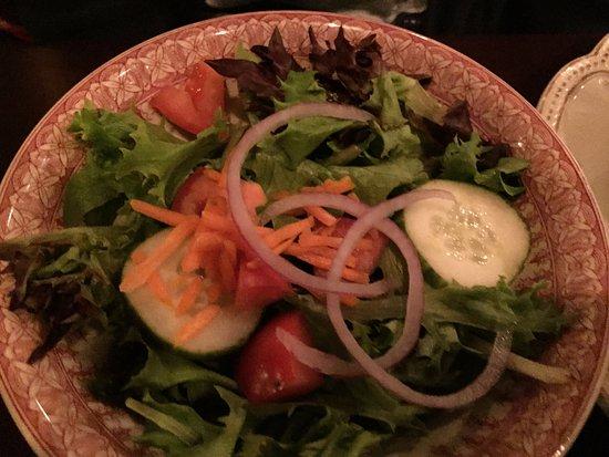 Carlisle, Pensilvania: House salad