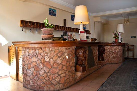 Hotel Gregoire: La Réception
