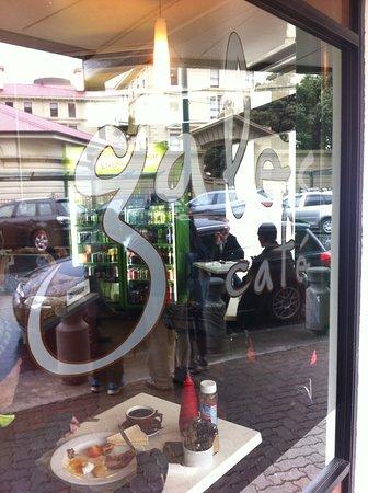Cafe Featherston Street Wellington