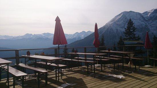 Лейташ, Австрия: Leutasch Wettersteinhütte 1717 Höhe
