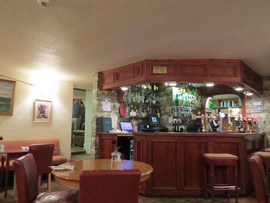 Meikleour, UK: Bar and eating area