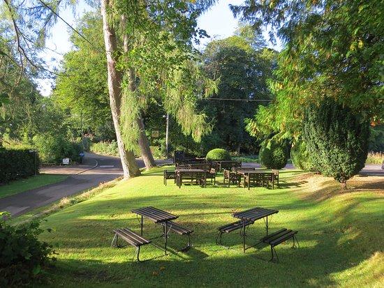 Meikleour, UK: The lovely beer garden