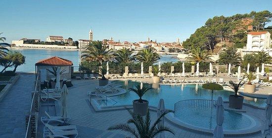 Banjol, كرواتيا: Blick aus südlichen Zimmern