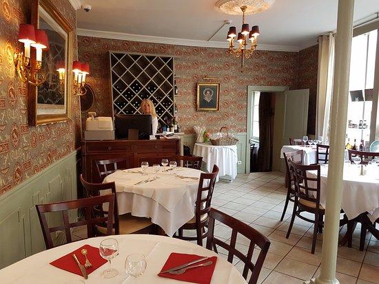 Les Lions de Beauclerc : The dining room