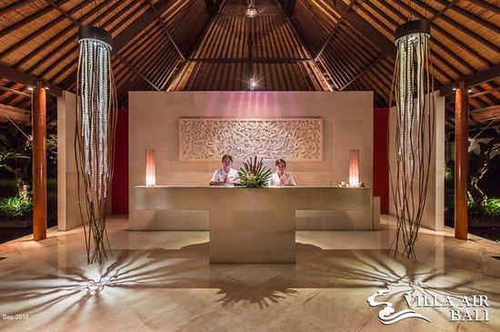 Villa Air Bali Boutique Resort & Spa: Lobby