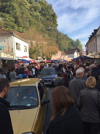 Hrvatska Kostajnica, كرواتيا: Kestenijada (Chestnuts days) in Kostajnica