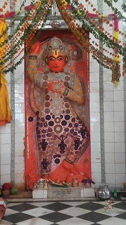 Orchha, الهند: Hanuman Mandir