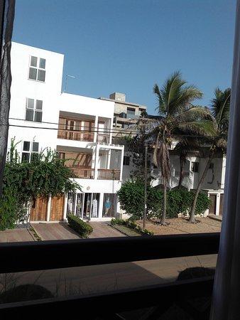 Yoff, Senegal: Blick von der Terrasse des Deluxe Zimmers