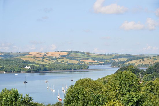 View of the River Dart from park