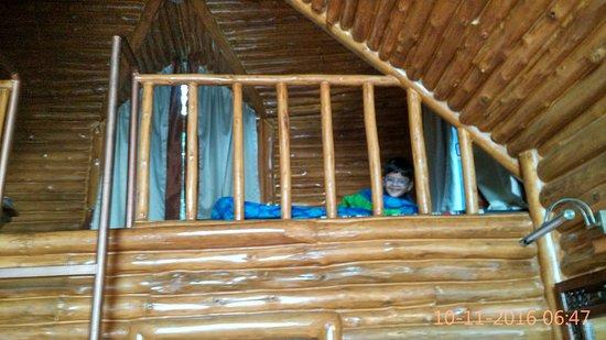 Banjara Camps - Thanedar: Loft for kids.
