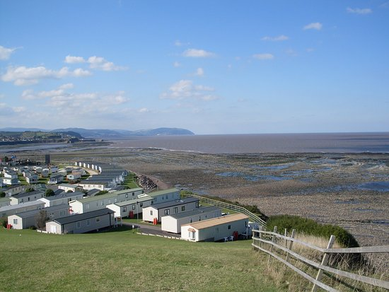 Watchet, UK: A view of part of the site taken from a picnic area.