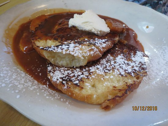 Cafe 56: bananas Foster French toast