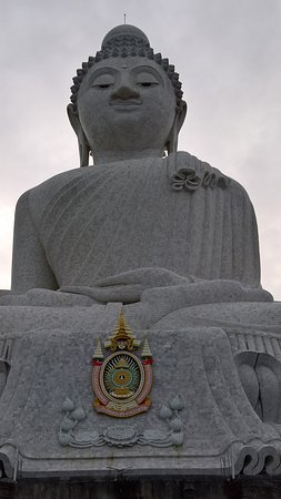 Chalong, Ταϊλάνδη: Big Buddha from stairs