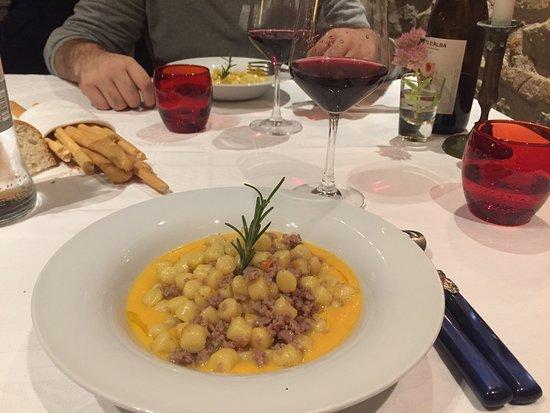 Coazzolo, Italia: Gnocchetti di patate..ottimo!