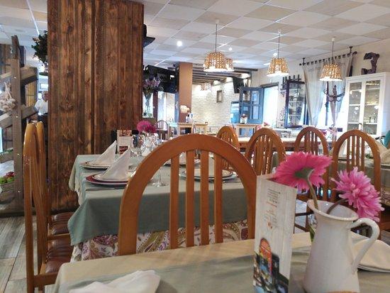 Granda, España: detalle del comedor