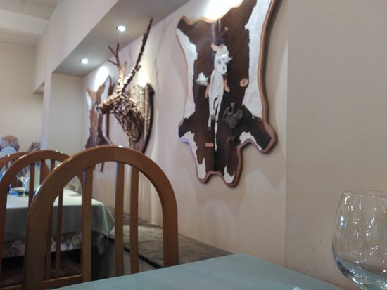 Granda, España: Detalle del restaurante