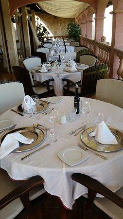 Es Mirador de Monnaber' Restaurant: Terraza