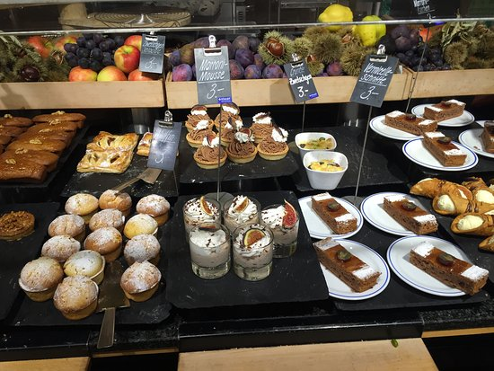 Manora: Just a few of the desserts at Manora