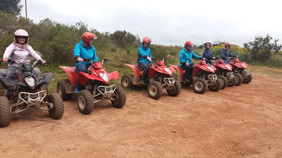 Grabouw, Sudáfrica: Family ready to go...