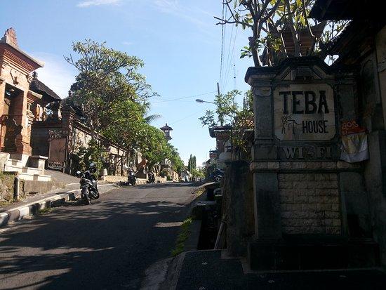 Teba House Ubud Guest House: Bagian depan Teba House