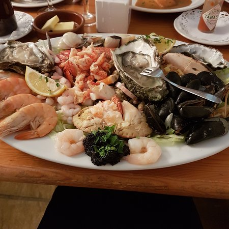 Thursford, UK: Fruit de Mer