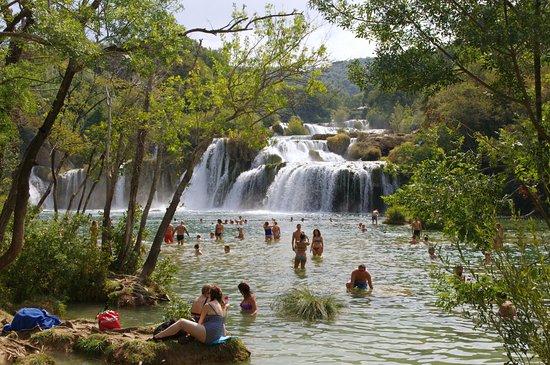 Шибенско-Книнская жупания, Хорватия: Happy swimmers