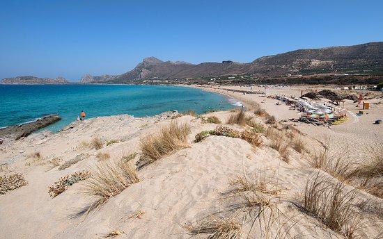 Falassarna, Grecia: Пляж Фаласарна