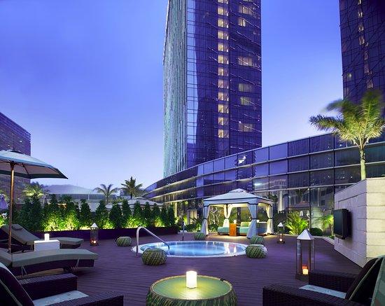 Grand Hyatt Macau: Outdoor Hot Tub