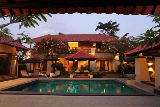 Pondok Ayu: Pool Evening Time