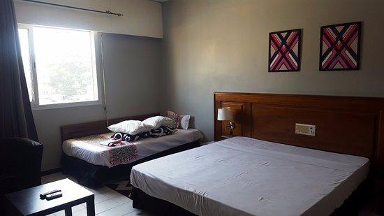 Hotel Al Baraka: De bedden zijn erg hard.