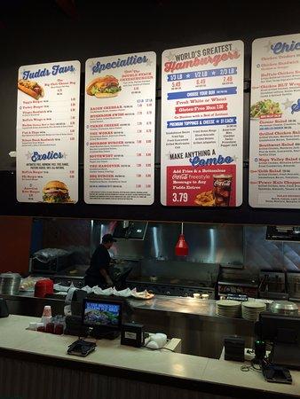 Photo of American Restaurant Fuddruckers at 7802 Orangethorpe Ave, Buena Park, CA 90621, United States
