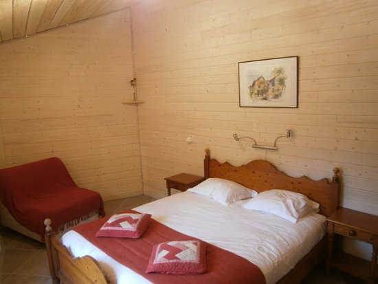 Sougraigne, Francia: Room in converted farm building