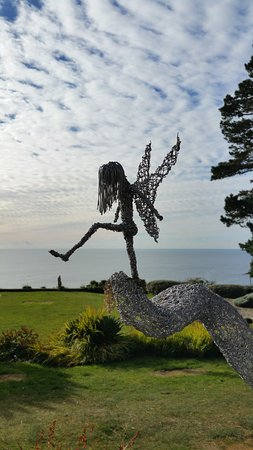 Porthallow, UK: Fairies at the bottom of the garden