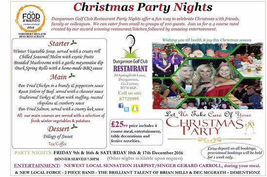 Dungannon, UK: Christmas Party Nights 2016